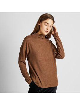 Pull Polaire Col Montant Femme by Uniqlo