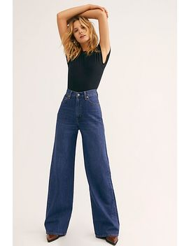 Levi's Ribcage Wide Leg Jeans by Levi's