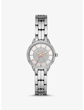 Mini Madelyn Silver Tone Watch by Michael Kors