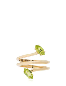 Gloriosa Lily Glory Gold Ring by Bea Bongiasca