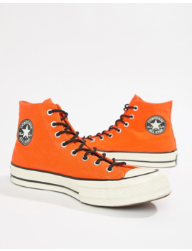 Converse Chuck Taylor All Star '70 Waterproof Hi Trainers In Orange 162351 C by Converse