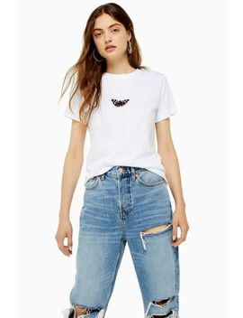 Mini Butterfly T Shirt by Topshop