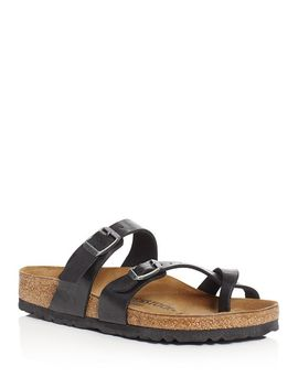 Women's Mayari Buckled Slide Sandals by Birkenstock