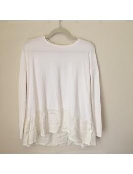 Lululemon White Long Sleeve Top by Lululemon Athletica