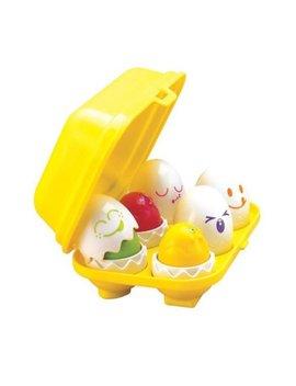 Tomy Toomies Hide & Squeak Eggs, Kids Egg Squeak Toys, 6m+ by Tomy