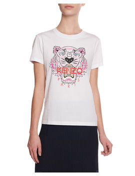Tiger Graphic Logo T Shirt by Kenzo