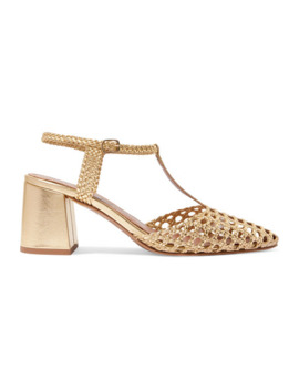 Sevilla Woven Leather Pumps by Souliers Martinez