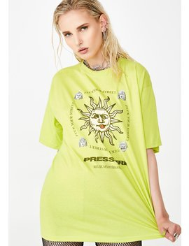 Big Sun Tee by Pressure Clothes