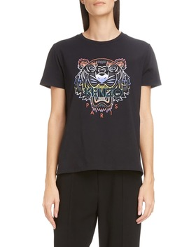 Gradient Tiger Logo Graphic Tee by Kenzo