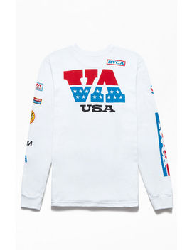 Rvca Indianapolis Long Sleeve T Shirt by Pacsun