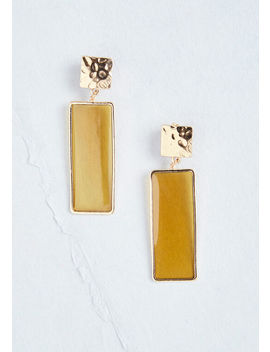 Sweet On Squares Geometric Earrings by Modcloth