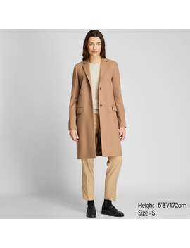 Cashmere Blend Chester Coat by Uniqlo