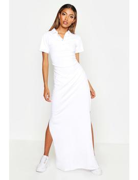 Collared Maxi Dress by Boohoo