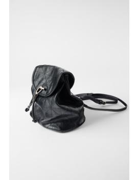Soft Flap Backpack by Zara