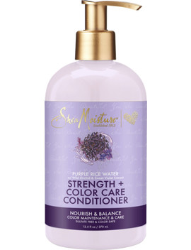 Purple Rice Water Strength + Color Care Conditioner by Shea Moisture