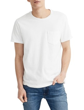 Allday Slim Fit Garment Dyed Pocket T Shirt by Madewell