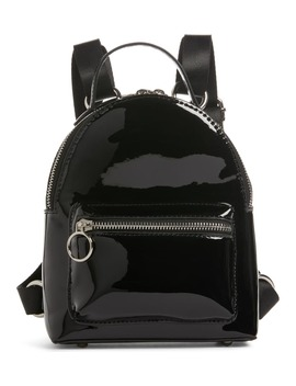 X Claudia Sulewski Faux Patent Leather Mini Backpack by Bp.
