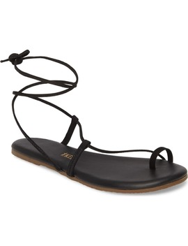 Jo Lace Up Sandal by Tkees