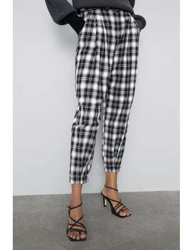 Slouchy Plaid Pants Collection Ways To Wear Woman by Zara