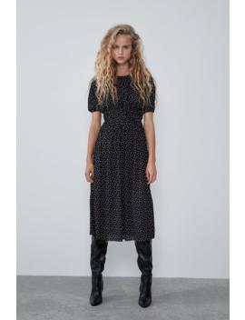 Polka Dot Dress Collection Rockstar Attitude Trf by Zara