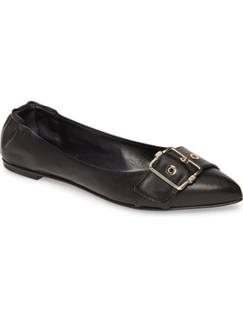 Pointed Toe Ballet Flat by Agl