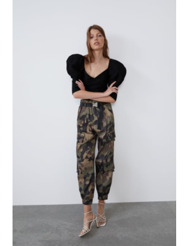 Camouflage Cargo Pants Join Lifewoman Cornershops by Zara
