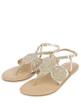 Gabriella Embellished Gladiator Sandals by Accessorize