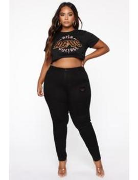 Just Ride For Me Skinny Jeans   Black by Fashion Nova