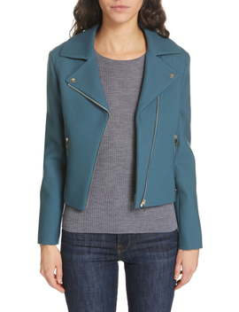 Colour By Numbers Nisah Biker Jacket by Ted Baker London