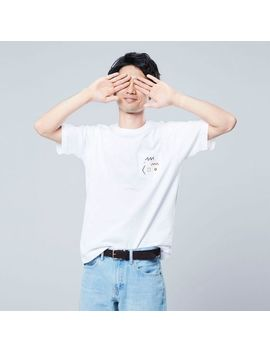 Men Super Geometric Dusen Dusen Ut (Short Sleeve Graphic T Shirt) by Uniqlo