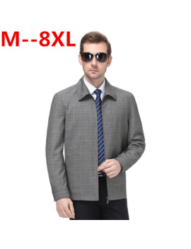 Plus 8 Xl 6 Xl 5 Xl 4 Xl New Casual Men Jackets Spring Autumn Bomber Jacket Men Windbreaker Jacket Mens Jackets And Coats Casacos by Ali Express.Com