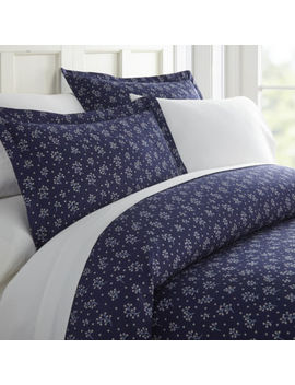 Casual Comfort Premium Ultra Soft Midnight Blossoms  Duvet Cover Set by Asstd National Brand