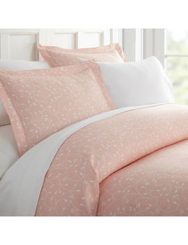 Casual Comfort Premium Ultra Soft Pink Buds Duvet Cover Set by Asstd National Brand