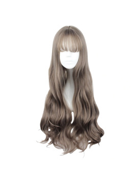 Mcoser 70 Cm Japan And South Korea Synthetic Hair Air Bang Mix Color Harajuku Cosplay Wig 100% High Temperature Fiber Wig 635 M by Ali Express.Com