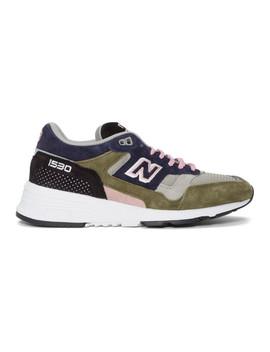 Grey & Khaki M1530 V1 Sneakers by New Balance