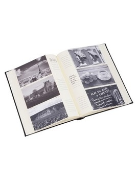 "4""X6"" Classic Photo Album Black by Hom Essence"