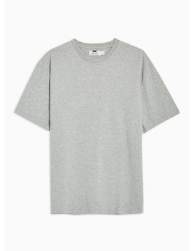 Grey Oversized T Shirt by Topman