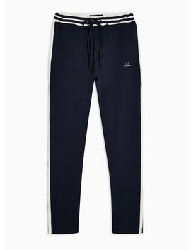 Hermano Navy Jersey Sweat Pants by Topman