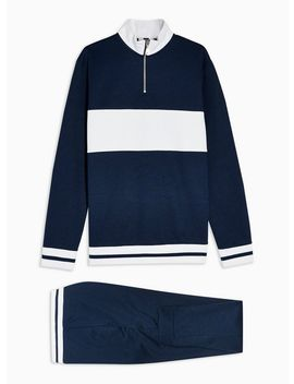 Navy Tracksuit by Topman