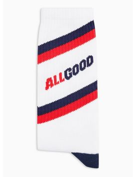 All Good Stripe Tube Socks by Topman