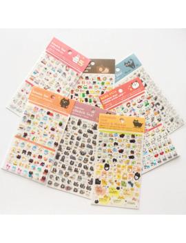 1 Sheet Cute Panda Cat Bear Mini Diy Schedule Seal Daily Event Decorative Stickers Diary Phone Bottle Decor Stick Label by Ali Express.Com