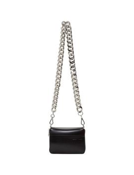 Black Large Bike Wallet Bag by Kara