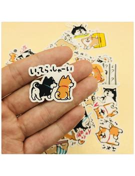 39pcs Cute Dog Husky And Shiba Inu Decoration Stationery Sticker Diy Diary Scrapbooking Label Sticker Stationery by Ali Express.Com