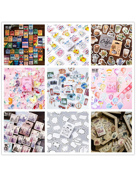(42 Styles Can Choose) Forest Stamp Boxed Stickers Diy Scrapbooking Paper Diary Planner Album Vintage Seal Decoration @Tz 0 by Ali Express.Com