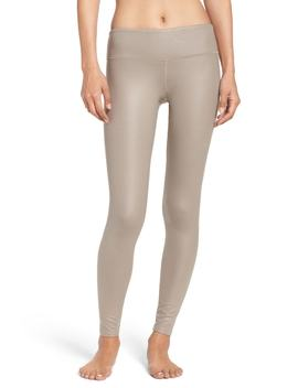 Airbrushed Glossy Leggings by Alo