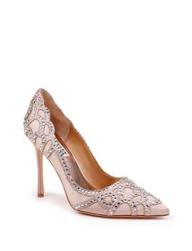 'rouge' Pointy Toe Pump by Badgley Mischka