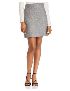 Wool Blend Pencil Skirt by Theory