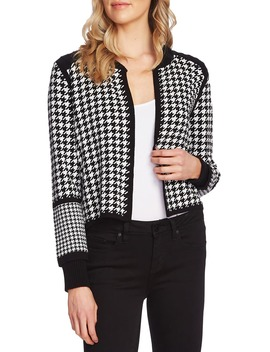 Houndstooth Cardigan by Vince Camuto