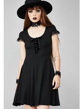Deadlock Doll Mini Dress by Widow