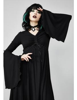 Hex In Harmony Cinched Dress by Widow
